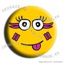 Badge Carna Smiley