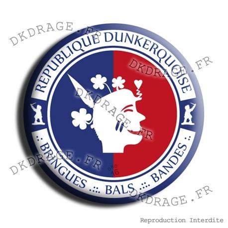 Badge République Dunkerquoise V2.0