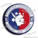Badge / Magnet République Dunkerquoise V2.0