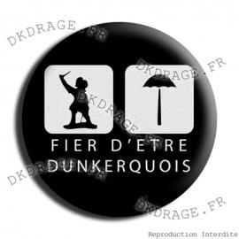Badge / Magnet Fier d`être Dunkerquois V2.0
