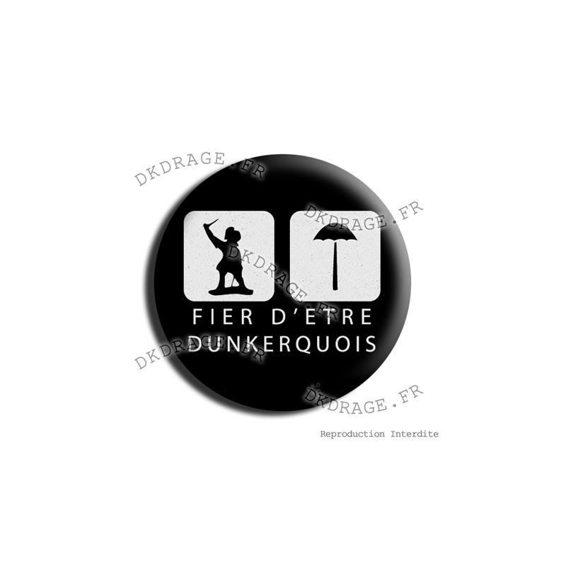 badge magnet fier d 39 tre dunkerquois v2 0 carnaval de dunkerque 2016. Black Bedroom Furniture Sets. Home Design Ideas