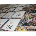 Calendrier de l'Avent carnaval + 24 surprises