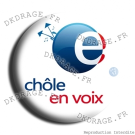 Badge Chole en voix