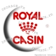 Badge Royal Casin