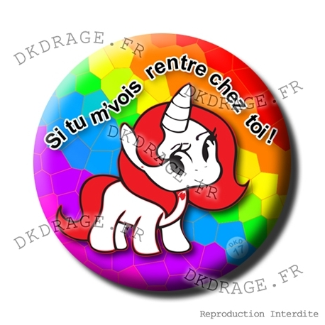 Badge Licorne