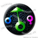 Badge / Magnet Genre Dunkerquois