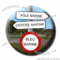 Badge / Magnet Direction Marine