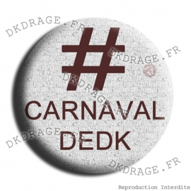 Badge Hashtag Carnaval