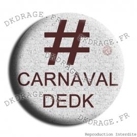 Badge Hashtag Carnaval