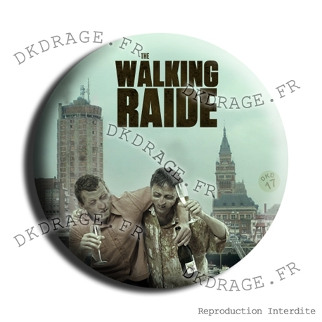 Badge The Walking Raide