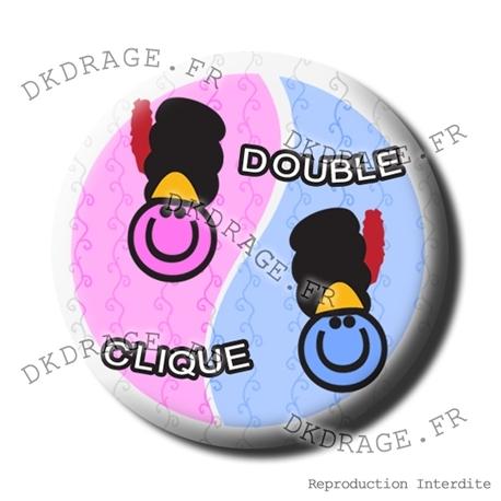 Badge Double Clique