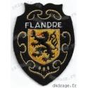 Ecusson brodé Blason des flandres (Grand, standard ou géant)