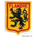 Ecusson brodé Blason Flandre Jaune (Grand, standard ou géant)