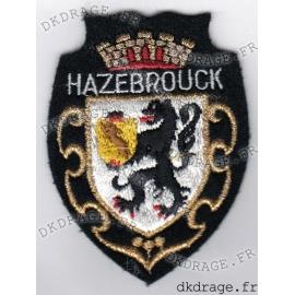 Ecusson brodé Blason Hazebrouck