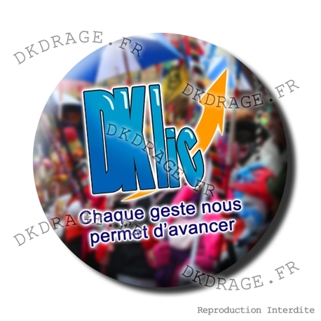 Badge Asso DKLIC version Carna