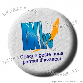 Badge Asso DKLIC version grise