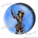 Badge / Magnet Statue de Jean Bart