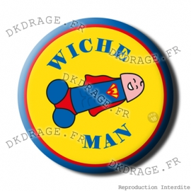 Badge / Magnet Wiche Man