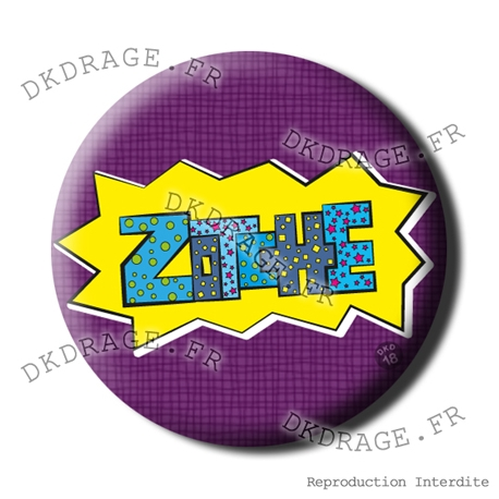 Badge / Magnet Zotche