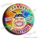 Badge / Magnet Carnaval de Dunkerque 2018 collector