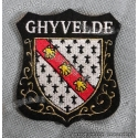 Ecusson brodé Blason Ghyvelde