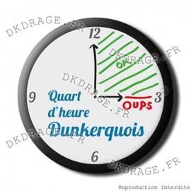 Badge / Magnet Quart d'heure Dunkerquois