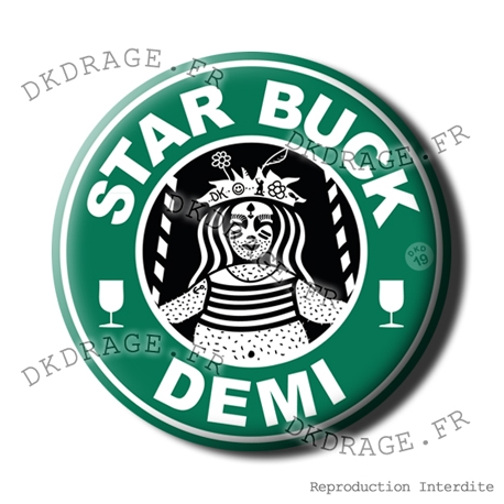 Badge / Magnet STAR BUCK DEMI