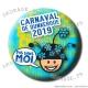 Badge / Magnet Carnaval de Dunkerque 2019 collector