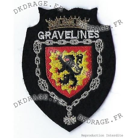 Ecusson brodé Blason Gravelines