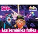"Calendrier Carnaval de Dunkerque 2019 ""Les semaines folles"""