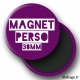 Magnet 38mm personnalisé carnaval