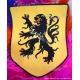 Ecusson brodé Lion des Flandres