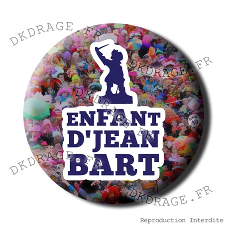 Badge / Magnet Enfant d'Jean Bart