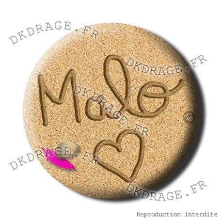 Badge / Magnet Malo