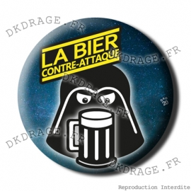 Badge / Magnet La BEAR contre-attaque