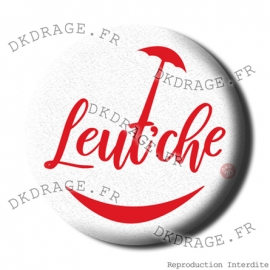 Badge / Magnet Leut'che - Rouge