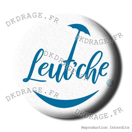 Badge / Magnet Leut'che - Bleu