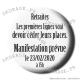 Badge / Magnet Réforme des retraites