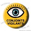 Badge / Magnet Conjoints Vigilants
