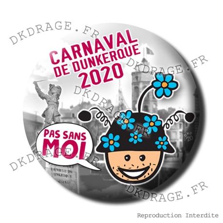 Badge / Magnet Carnaval de Dunkerque 2020 collector