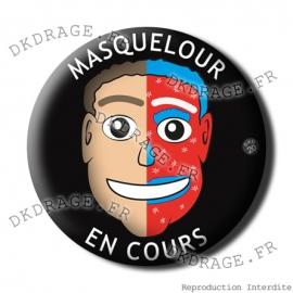 Badge / Magnet Masquelour en cours