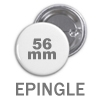 Badge à épingle (56mm)