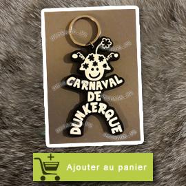Porte Clé Mr Carnaval