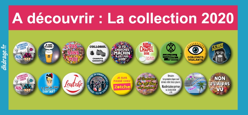 La collection des badges 2020 est arrivée !