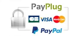 Site sécurisé SSL + Moyens de paiement sécurisés